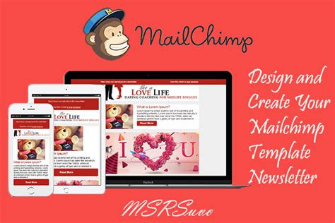 create a custom newsletter template mailchimp design and create your mailchimp template newsletter by