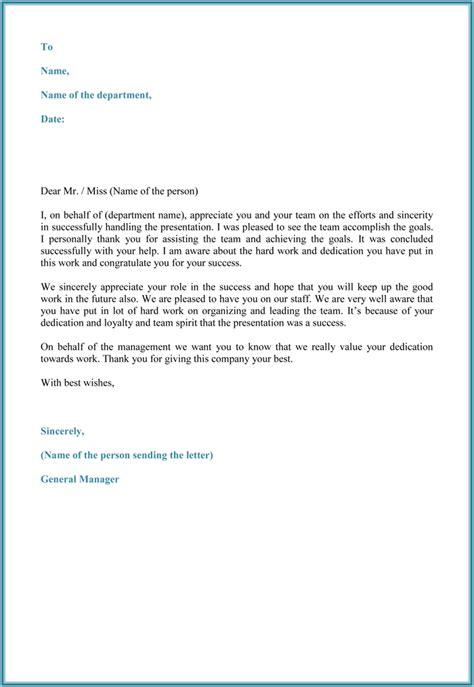 appreciation letter templates appreciation letter 5 plus printable sample letters