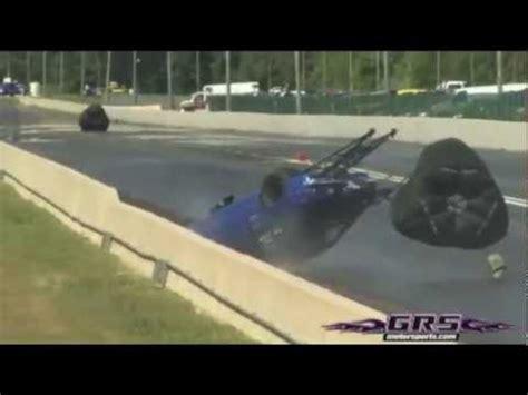 nyces crash pepe loco crash  atco raceway june