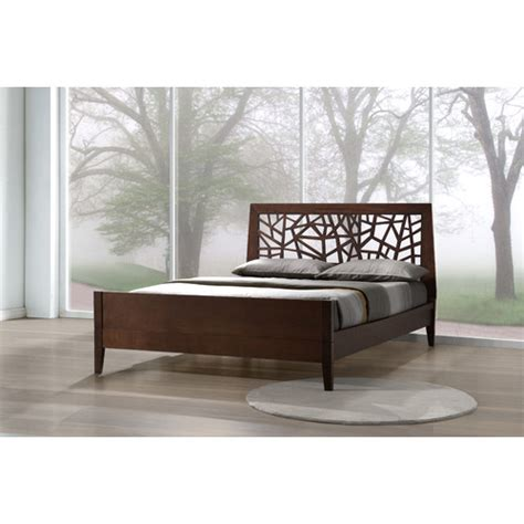baxton studio bed frame wayfair