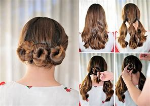 HD Wallpapers Simple Hairstyles Step By For Medium Hair
