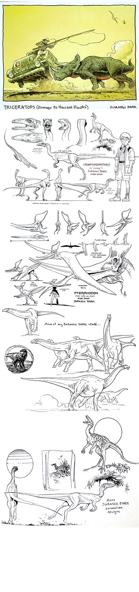 Peep the Concept Art from a Cancelled 1993 'Jurassic Park ...