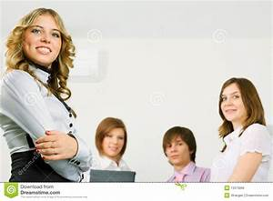 Happy Young Business Team. Royalty Free Stock Image ...