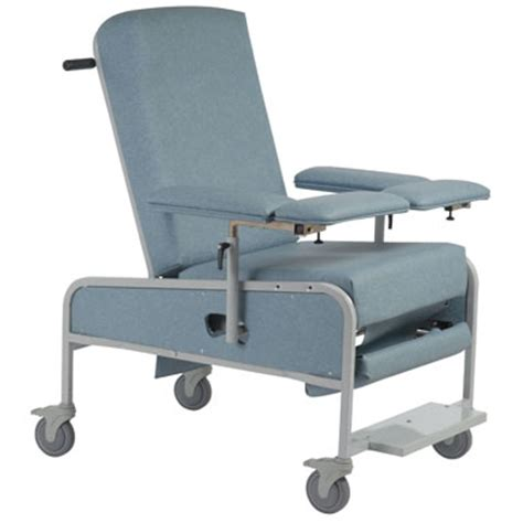 reclining blood drawing chair xl custom comfort medtek