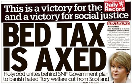 Bedroom Tax Vote Snp by Wings Scotland The Unpayable Ransom