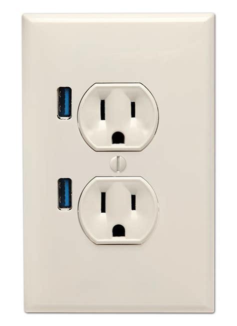 socket wall outlet   usb ports gadgetsin