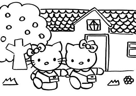 Hello Kitty Ausmalbilder 2 953 Malvorlage Hello Kitty