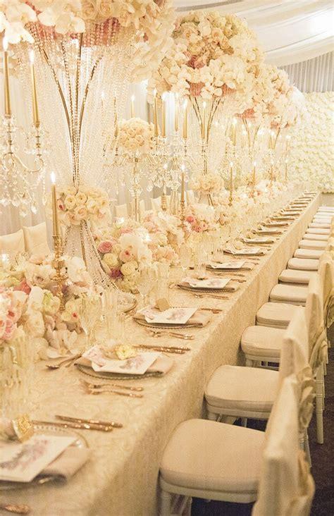 and gold reception decoration best 25 luxury wedding decor ideas on