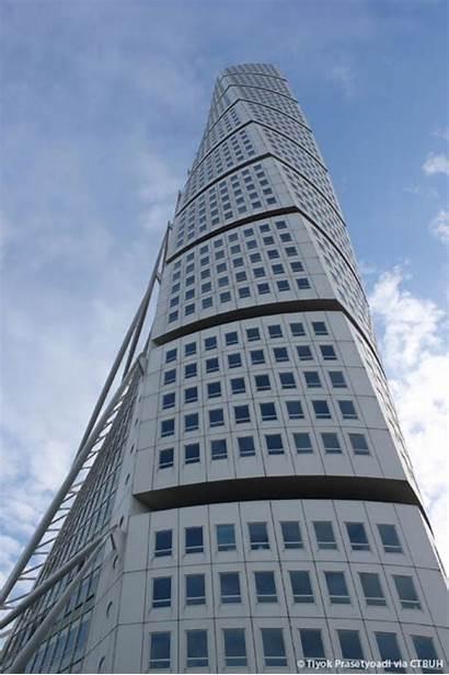 Torso Turning Towers Calatrava Twisting Floornature Torsione