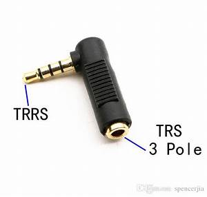 90 Degree Right Angle 3 5mm Trrs Ctia Male To Trs 3pole