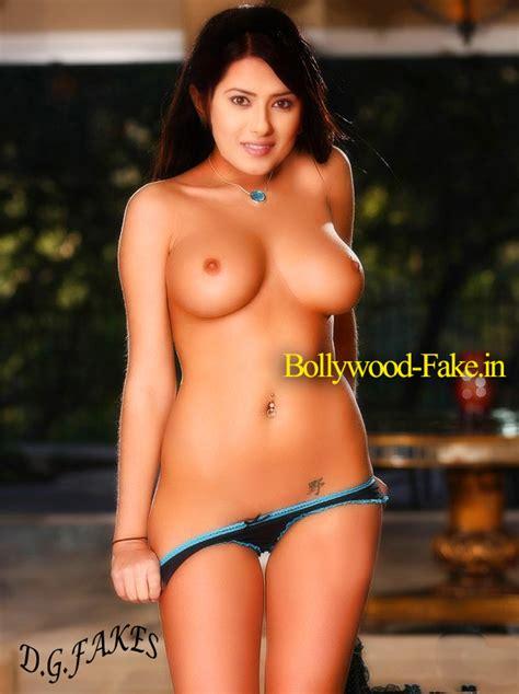 Topless Kratika Sengar Nude Boobs Fake Nude Desi Actress