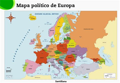 Este De Europa Mapa