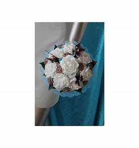 Bouquet De La Mariée : bouquet mari e rond th me voyage avec plumes perles et ~ Melissatoandfro.com Idées de Décoration