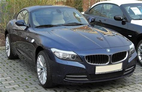 New Blue Bmw Convertible Z4 Car Launch In India