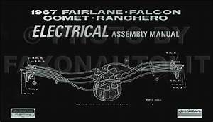1967 Mercury Electrical Assembly Manual Comet Cyclone