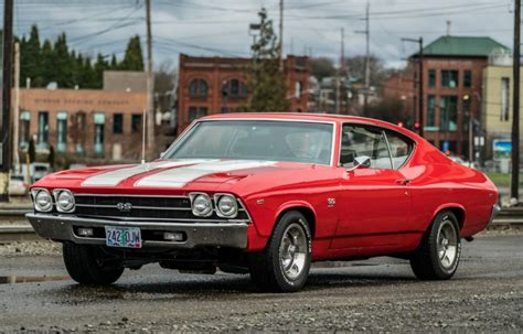 Chevrolet Chevelle Ss For Sale by No Reserve 1969 Chevrolet Chevelle Ss For Sale On Bat