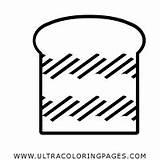 Loaf sketch template