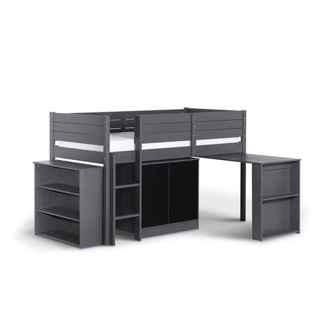 lit en hauteur avec bureau hauteur bureau enfant stunning lit hauteur with hauteur