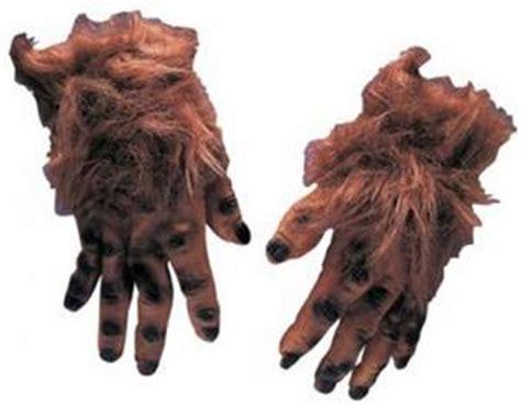 Brown Hairy Hands Fancy Dress Yeti Halloween Bigfoot Buy