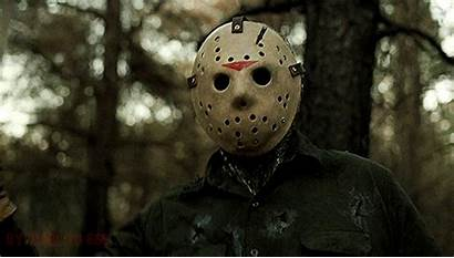 Jason 13th Friday Lives Voorhees Gifs Horror