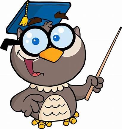Math Teacher Clipart Cartoon Female Clip Owl