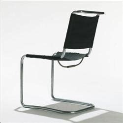 marcel breuer b33 side chair thonet german