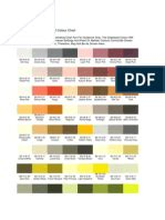 ral color chart bs 4800 blue yellow