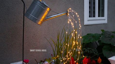 where to buy solar lights for crafts glowing watering can made with fairy lights my crafts and