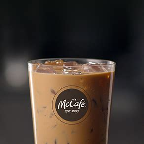 Cream can be added if you'd. McCafé®: Iced French Vanilla Coffee   McDonald's