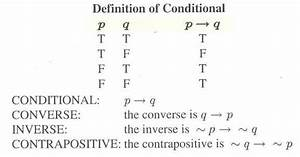 Section 3 2  Truth Tables And The Conditional