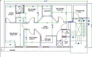 home design cad 4 bed room house design autocad 3d cad model grabcad
