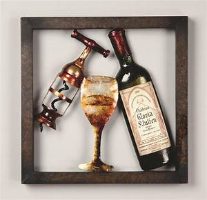 fair 90 wine wall art decorating inspiration of wine wall With wine wall art