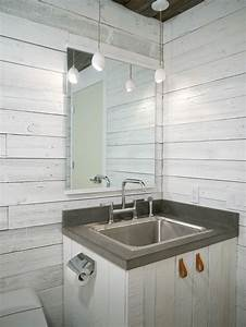 34 Relaxed White Wash Wood Walls Designs - DigsDigs