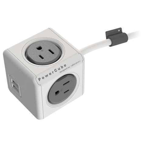 hotel ls with outlets and usb powercube extended usb electric outlet adapter 5ft