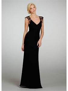 long black dresses for weddings dress blog edin With long black dress for wedding