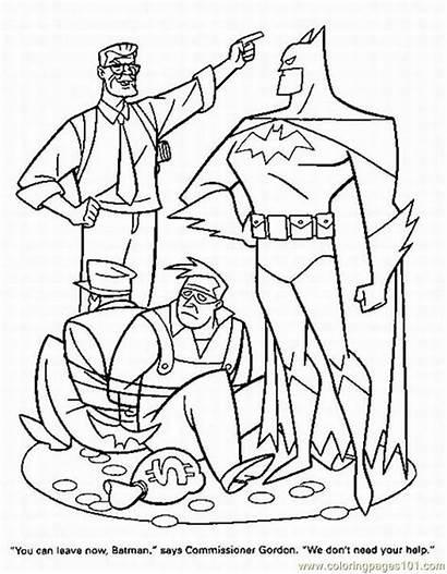 Coloring Superhero Pages Superheroes Super Hero Printable