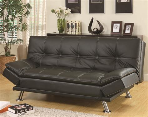 black leather bed settee black leather sofa bed a sofa furniture outlet los