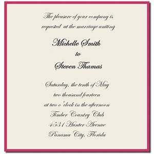 1000 ideas about wedding invitation wording examples on With sample of wedding invitation write up