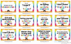 Colorful Positi... Instructional Material Quotes