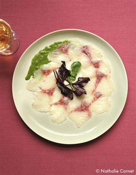 cuisine recette poisson carpaccio de poisson pour 4 personnes recettes à table