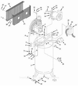 Campbell Hausfeld Ci051089vpms Parts Diagram For Air