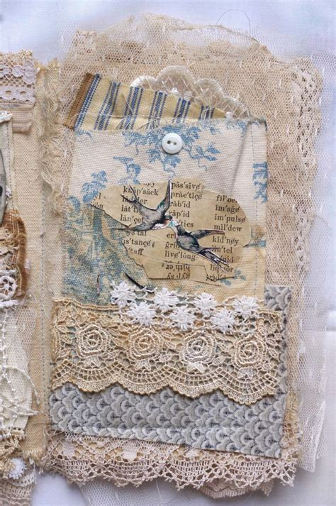 shabby fabrics bible cover 74 best mixed media fabric collage book images on pinterest collage book fabric books and