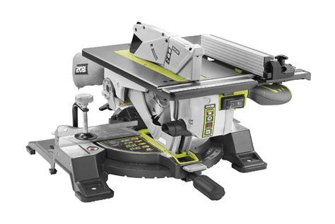 miter table saw combo crazy news ryobi rtms1800 miter saw table saw combo