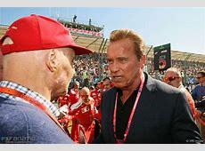 Niki Lauda, Arnold Schwarzenegger, Albert Park, 2016 · F1
