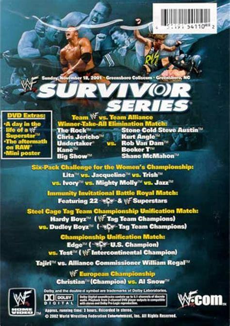 WWF: Survivor Series - Winner Take All (DVD 2001) | DVD Empire