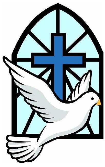 Confirmation Symbols Clipart Catholic Church St Religious