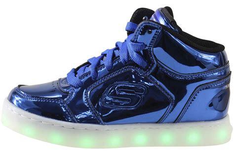 Boys Light Up Shoes by Skechers Big Boy S S Lights Energy Lights Eliptic