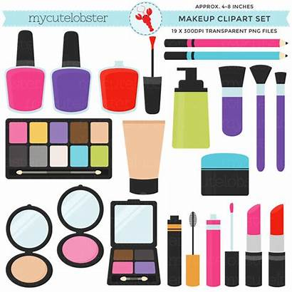 Makeup Clip Clipart Beauty Blush Nail Lipstick