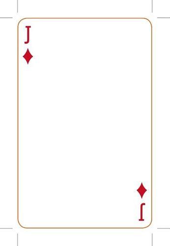 playing card template peerpex