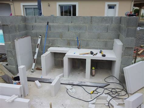 cuisine cellulaire cuisine construire une cuisine en beton cellulaire